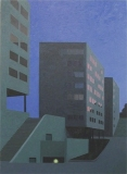12-drie-flats-in-schemering-2005-110x140