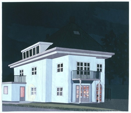 079+ypenburg+-+wit+huis+bij+nacht